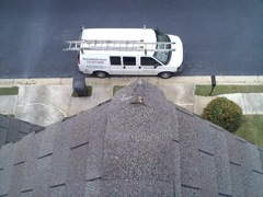 Alpharetta's Best Gutter Cleaners' Certainteed Certified roofers can replace cracked ridgecaps.