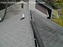 Alpharetta's Best Gutter Cleaners' Certainteed Certified roofers can install or replace your ridge vents.